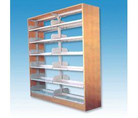 單柱鋼木圖書架