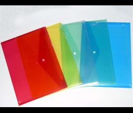 彩色塑料文件袋